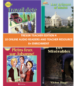 Trésor Teacher Edition 4 Online Audio Readers